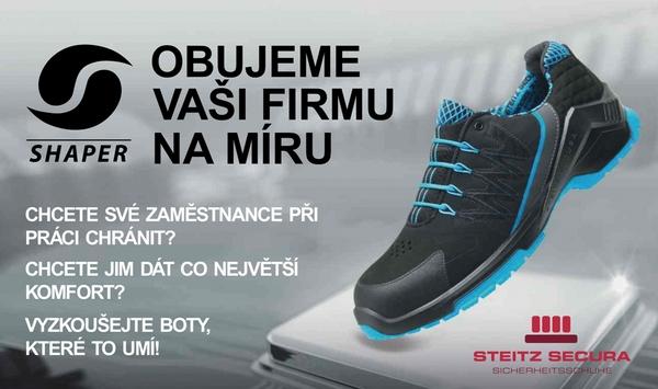 8de93acb82b5 SHAPER  prvotřídní pracovní obuv STEITZ Secura a vlastní patentovaná ...